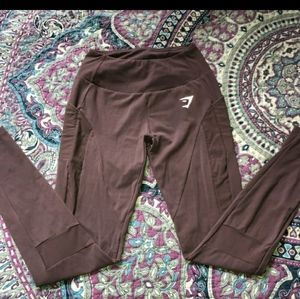 GYMSHARK LEGGINGS W/PKTS